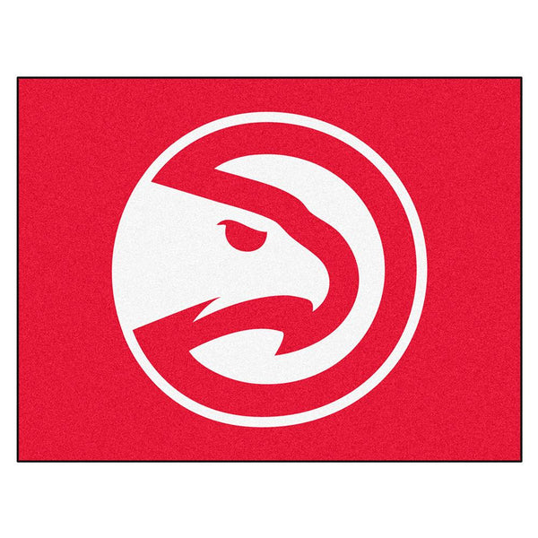 Atlanta Hawks Nba All-star Floor Mat (34in X 45in)