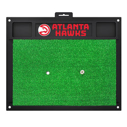 Atlanta Hawks Nba Golf Hitting Mat (20in L X 17in W)