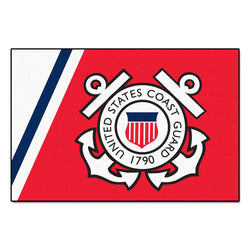 Us Coast Guard Armed Forces 4x6 Rug (46