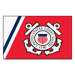 Us Coast Guard Armed Forces 5x8 Rug (60
