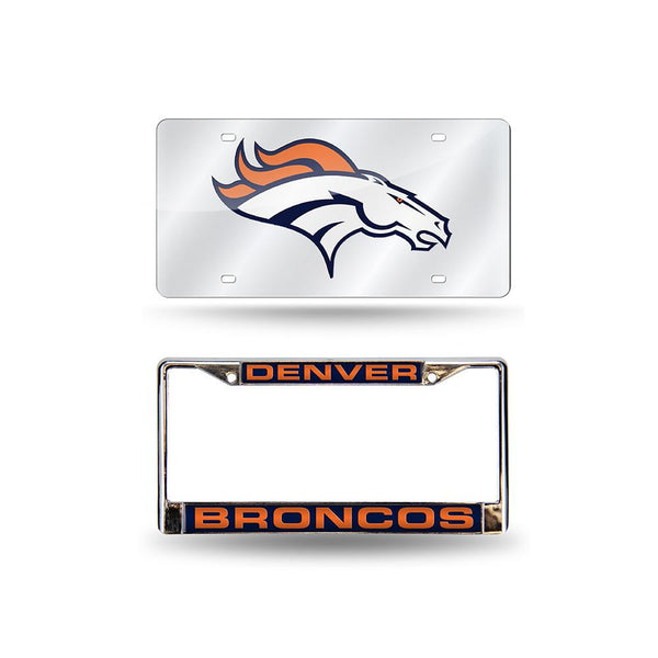 Denver Broncos Nfl 2 Piece Laser Pack
