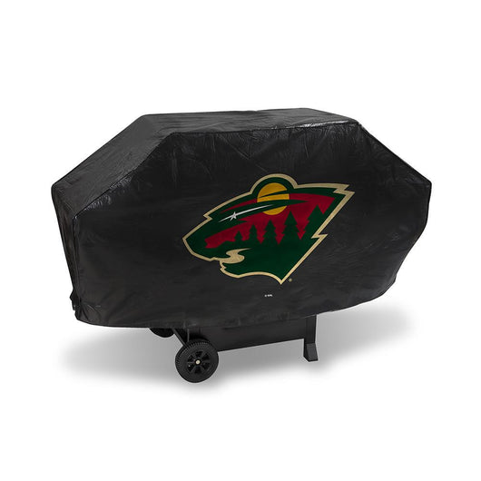 Minnesota Wild Nhl Deluxe Barbeque Grill Cover