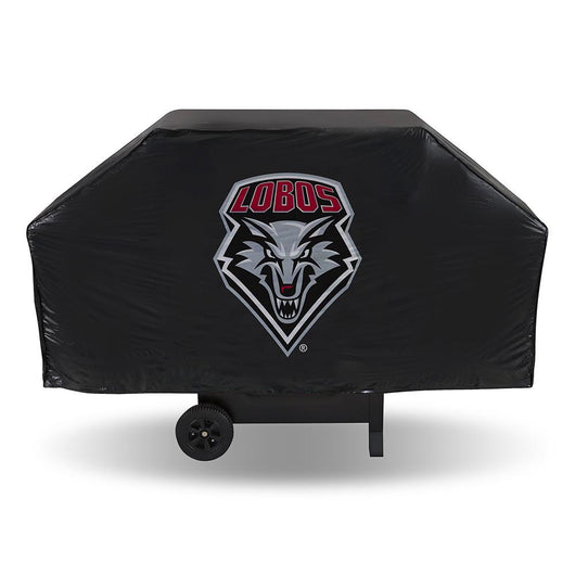 New Mexico Lobos Ncaa Economy Barbeque Grill Cover
