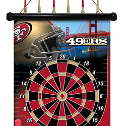 San Francisco 49ers Nfl Magnetic Dart Board