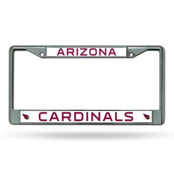 Arizona Cardinals Nfl Chrome License Plate Frame