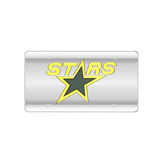 Dallas Stars Nhl Laser Cut License Plate Cover