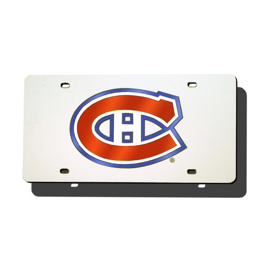 Montreal Canadiens Nhl Laser Cut License Plate Tag
