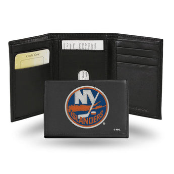 New York Islanders Nhl Embroidered Trifold Wallet