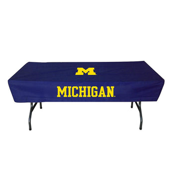 Michigan Wolverines Ncaa Ultimate 6 Foot Table Cover