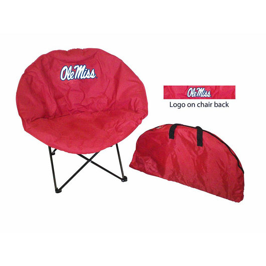 Mississippi Rebels Ncaa Ultimate Round Chair