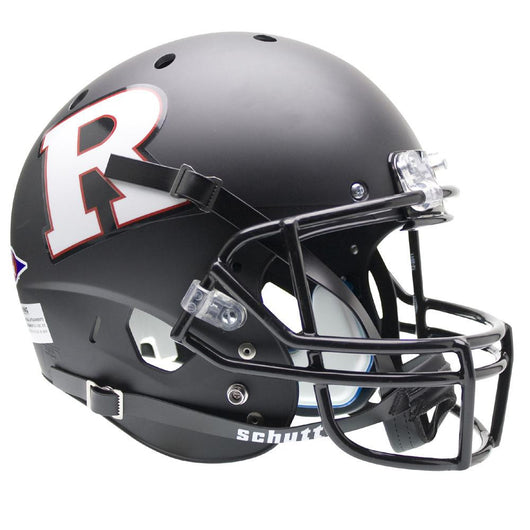 Rutgers Scarlet Knights Ncaa Replica Air Xp Full Size Helmet (alternate Black W- White R 3)
