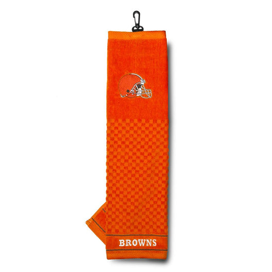 Cleveland Browns Nfl Embroidered Towel