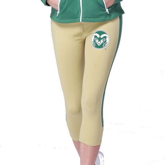 Colorado State Rams Ncaa Womens Yoga Pant (gold) (large)