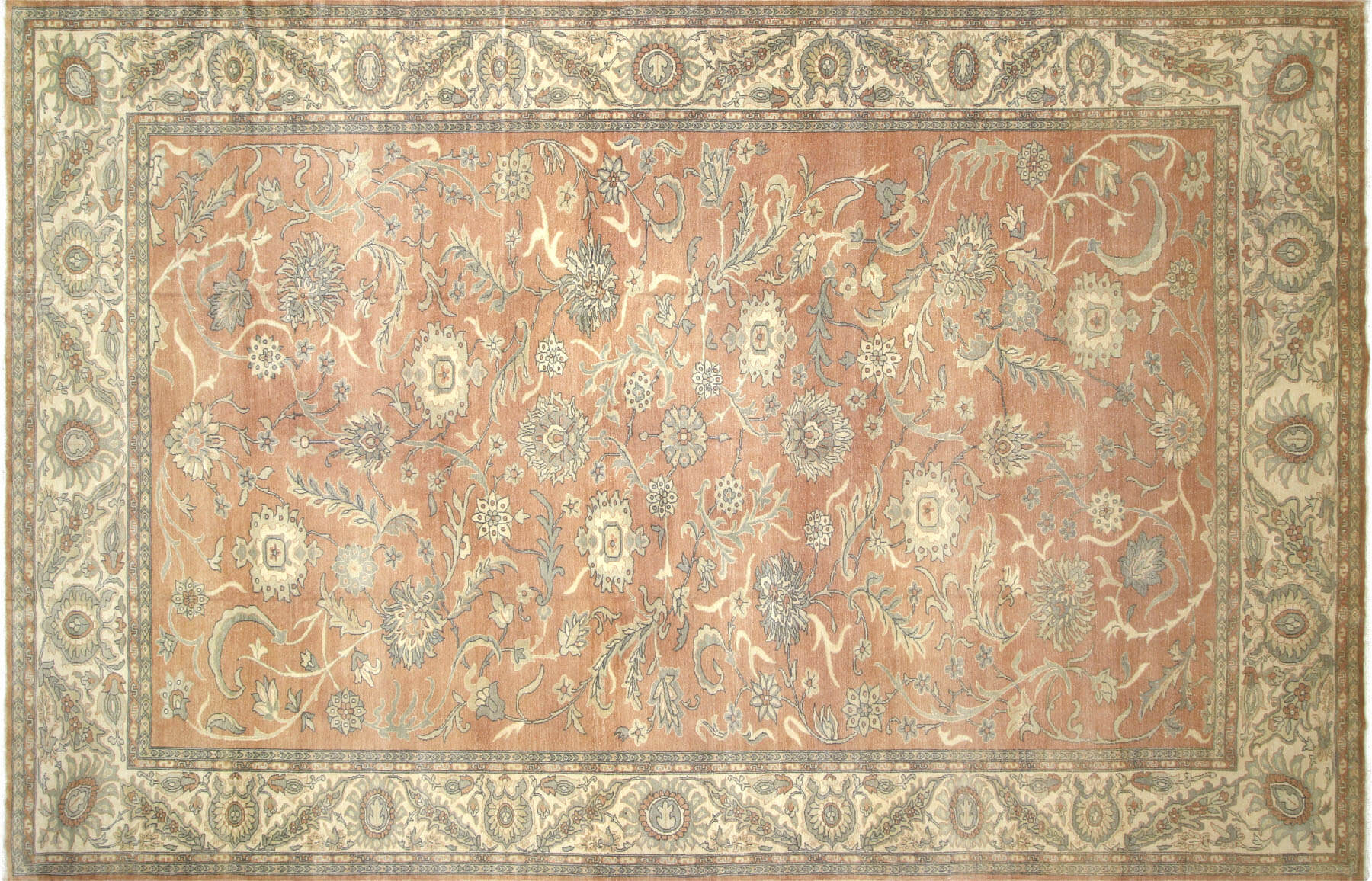 "Recently Woven Egyptian Sultanabad Carpet - 11'8"" x 17'11"""