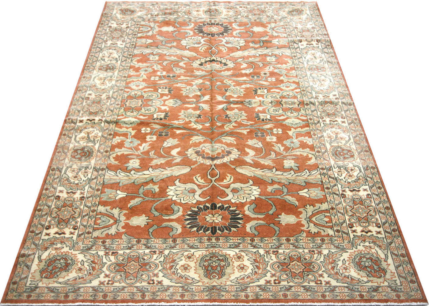 "Recently Woven Egyptian Sultanabad Rug - 6'1"" x 8'9"""