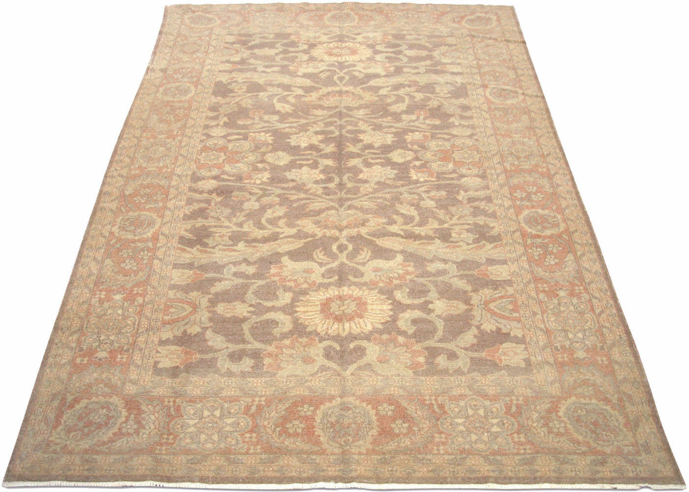 Recently Woven Egyptian Sultanabad Rug - 6' x 9'