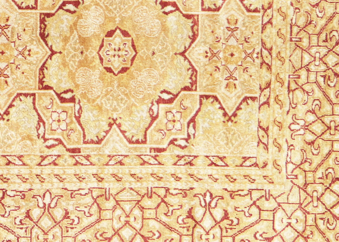 "Recently Woven Turkish Oushak Carpet - 8'9"" x 11'2"""