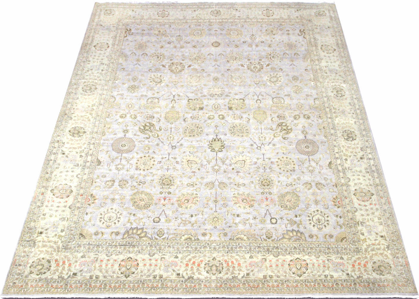 "Vintage Persian Tabriz Carpet - 11'10"" x 15'0"""