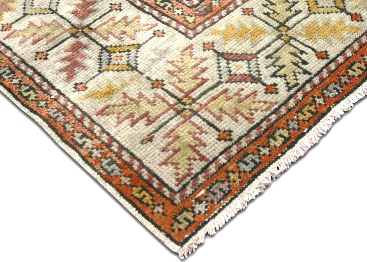 "Vintage Turkish Oushak Rug - 5'7"" x 8'7"""