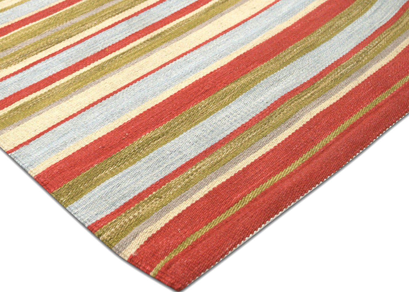 "Recently Woven Egyptian Kilim - 8'3"" x 10'7"""