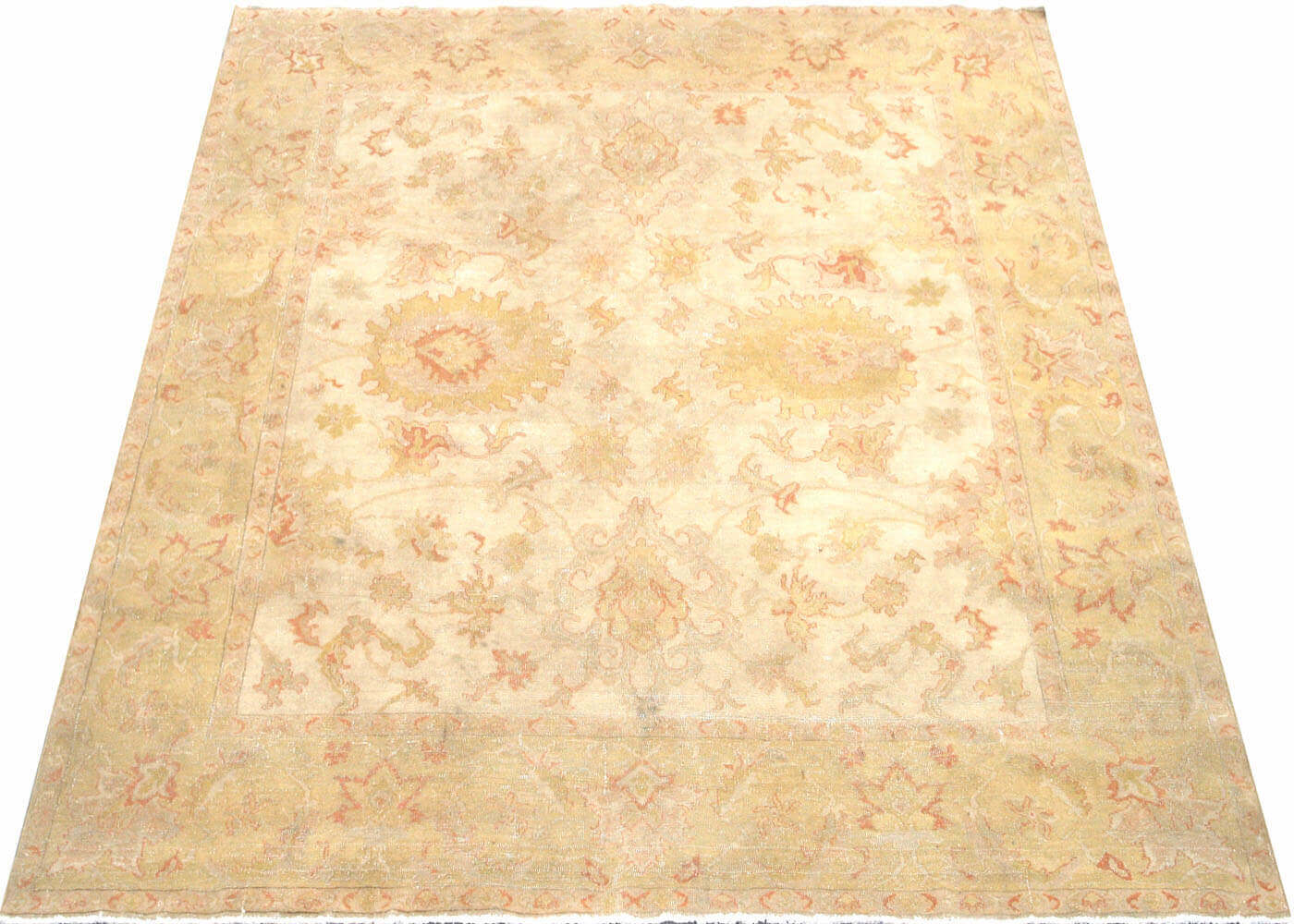 "Recently Woven Egyptian Sultanabad Rug - 8'6"" x 8'7"""