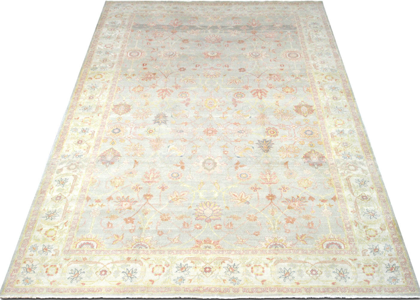 "Recently Woven Egyptian Tabriz Carpet - 10'1"" x 13'7"""