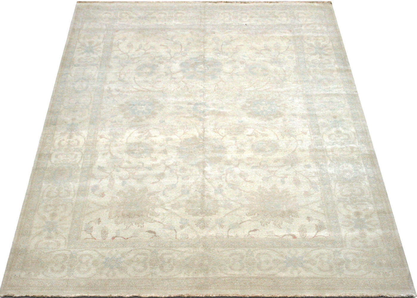"Recently Woven Egyptian Tabriz Carpet - 7'11"" x 10'3"""