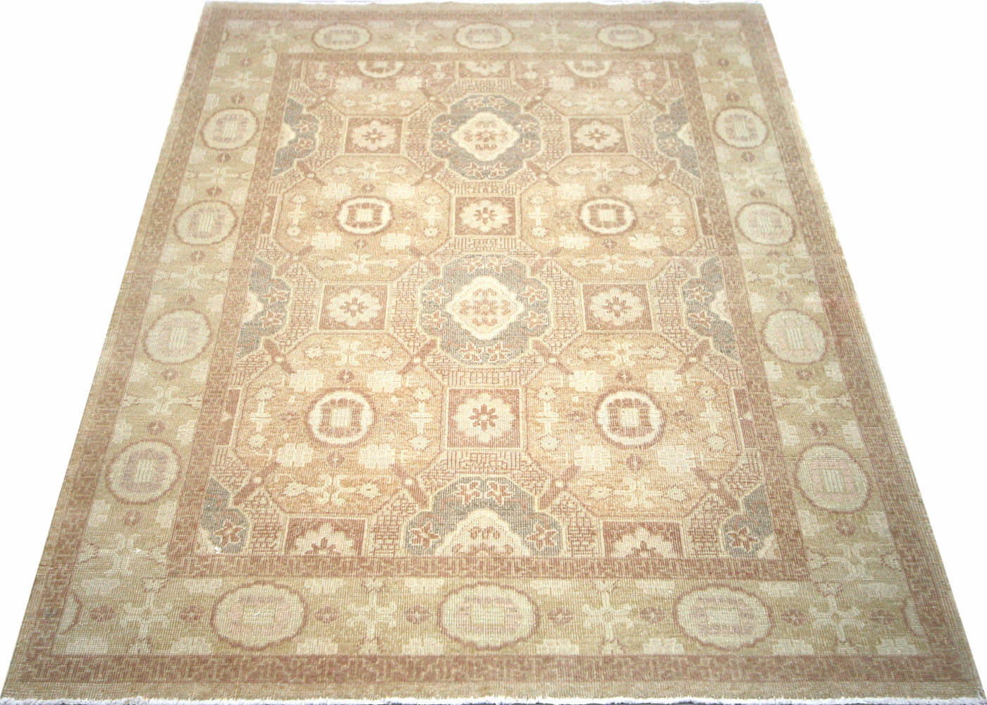 "Recently Woven Egyptian Khotan Rug - 5'0"" x 7'3"""