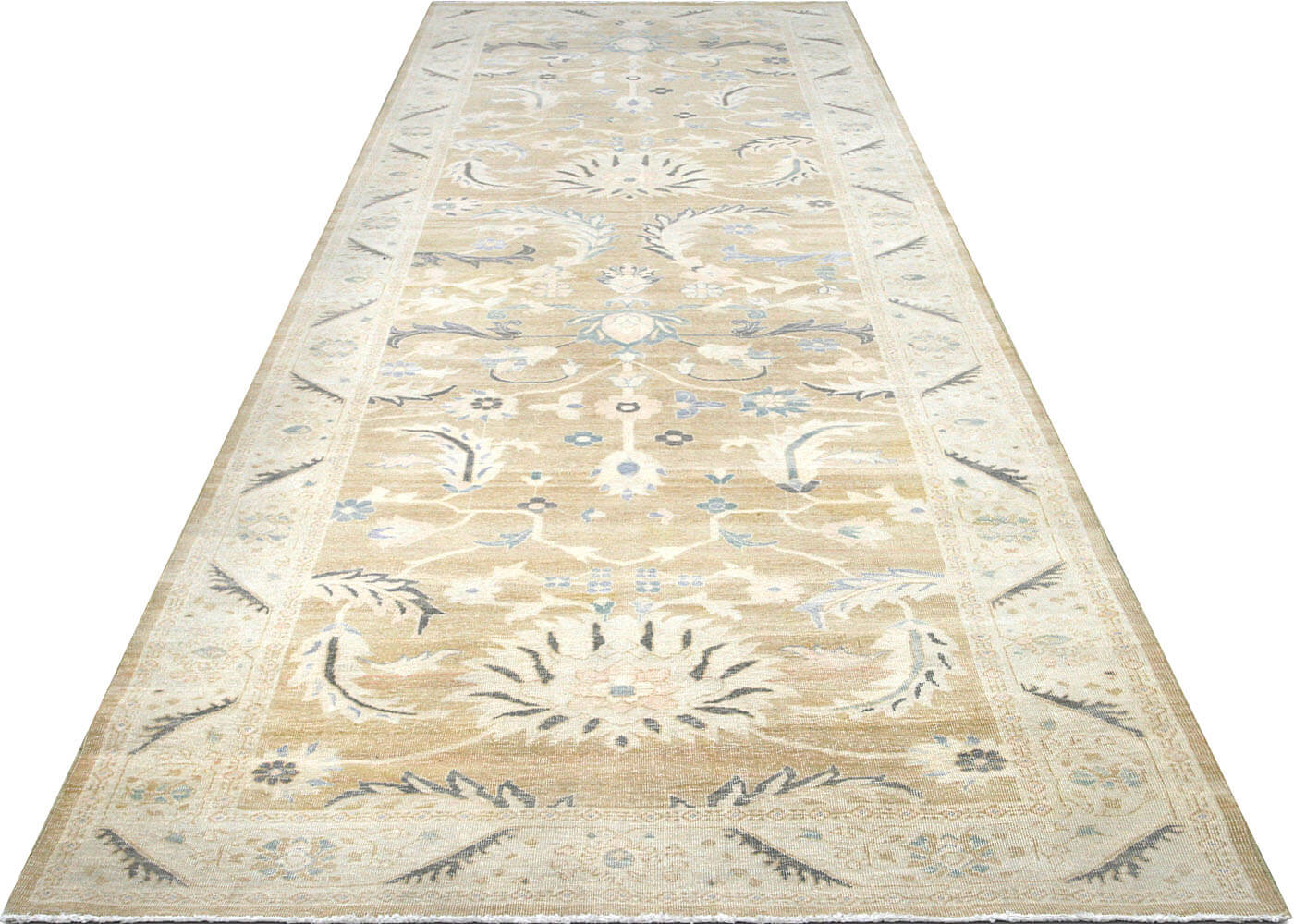 "Recently Woven Egyptian Sultanabad Carpet - 4'11"" x 14'10"""