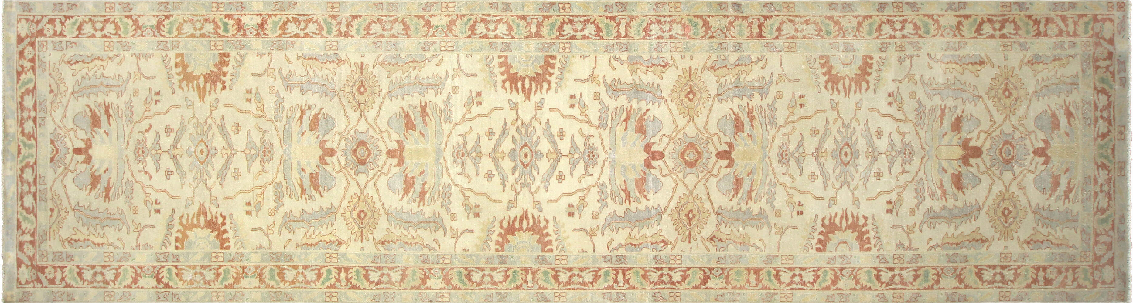 "Recently Woven Egyptian Sultanabad Carpet - 4'10"" x 18'2"""