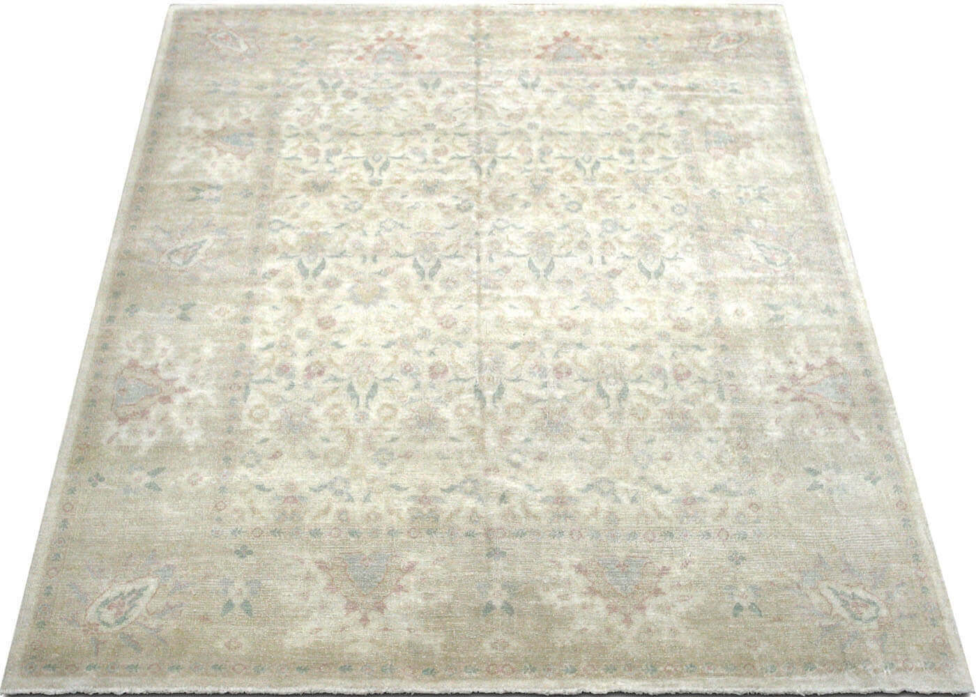 "Recently Woven Egyptian Oushak Carpet - 8'0"" x 10'2"""
