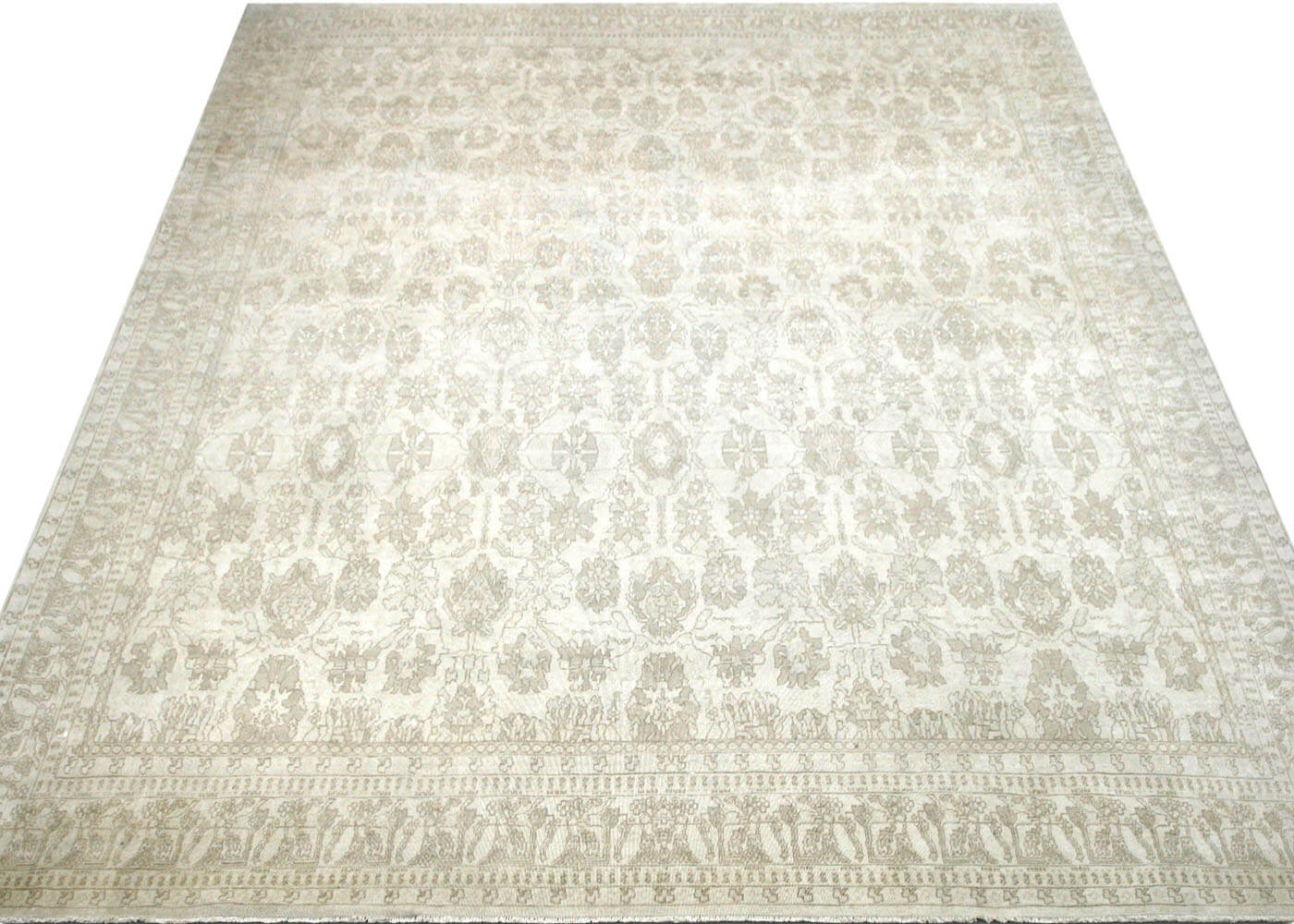 "Recently Woven Egyptian Tabriz Carpet - 14'7"" x 15'10"""