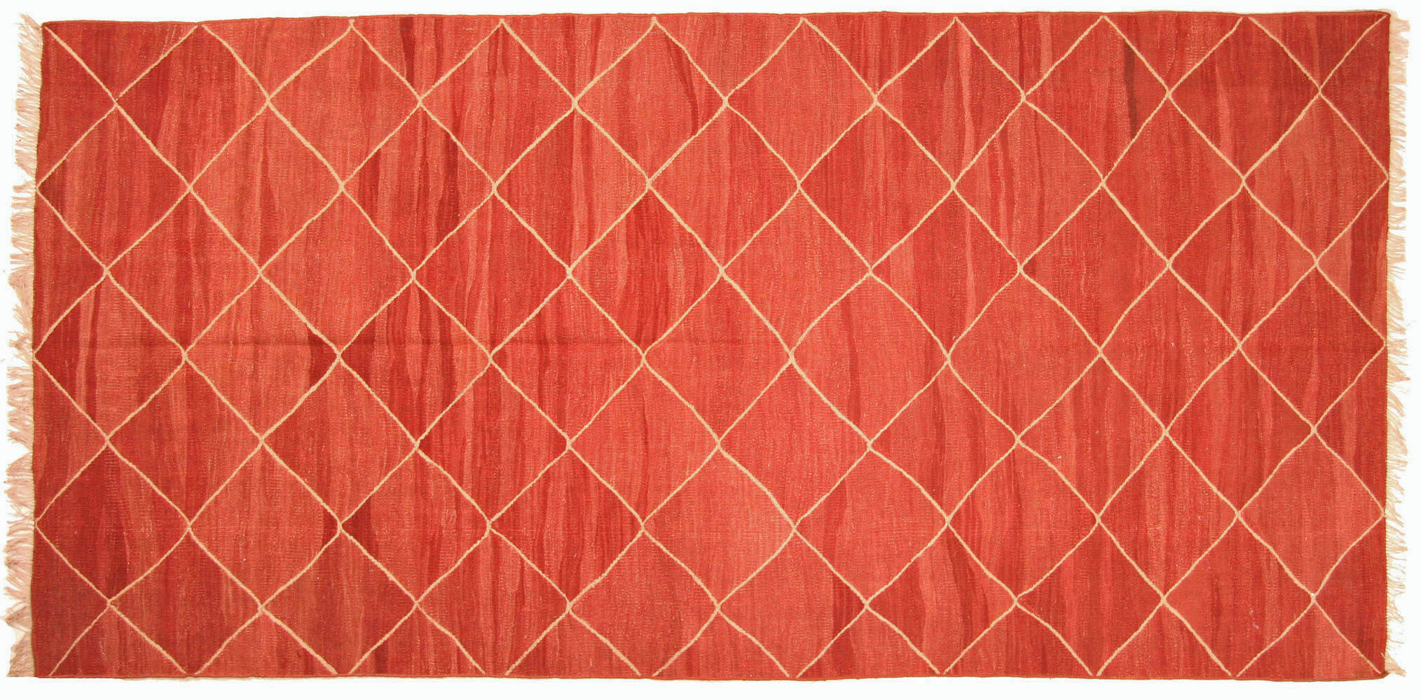 "Vintage Turkish Kilim - 4'5"" x 9'"