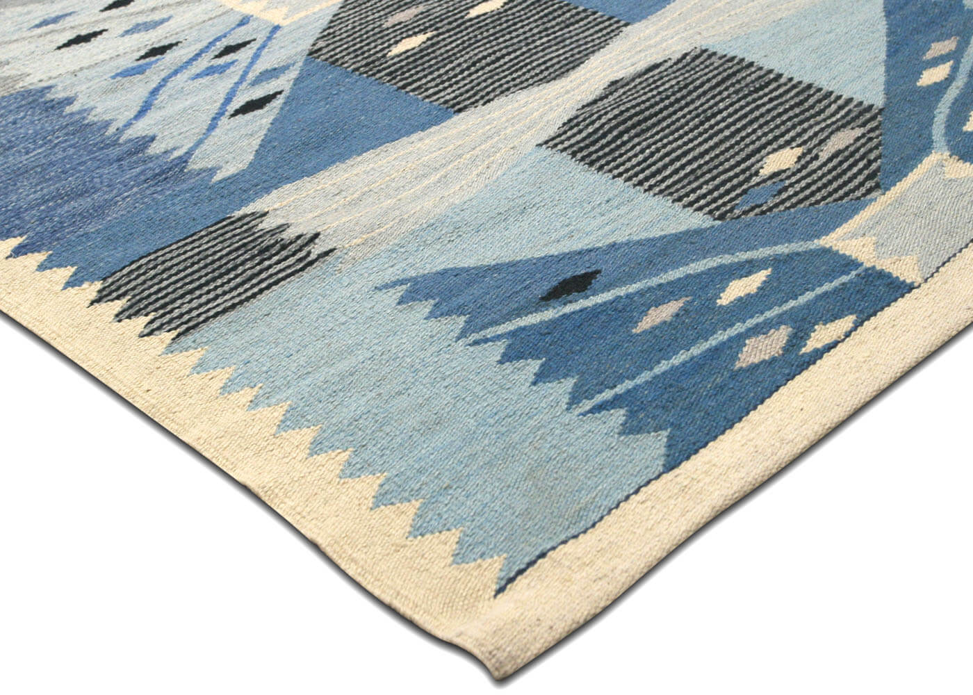 "Recently Woven Egyptian Kilim - 9'11"" x 13'2"""