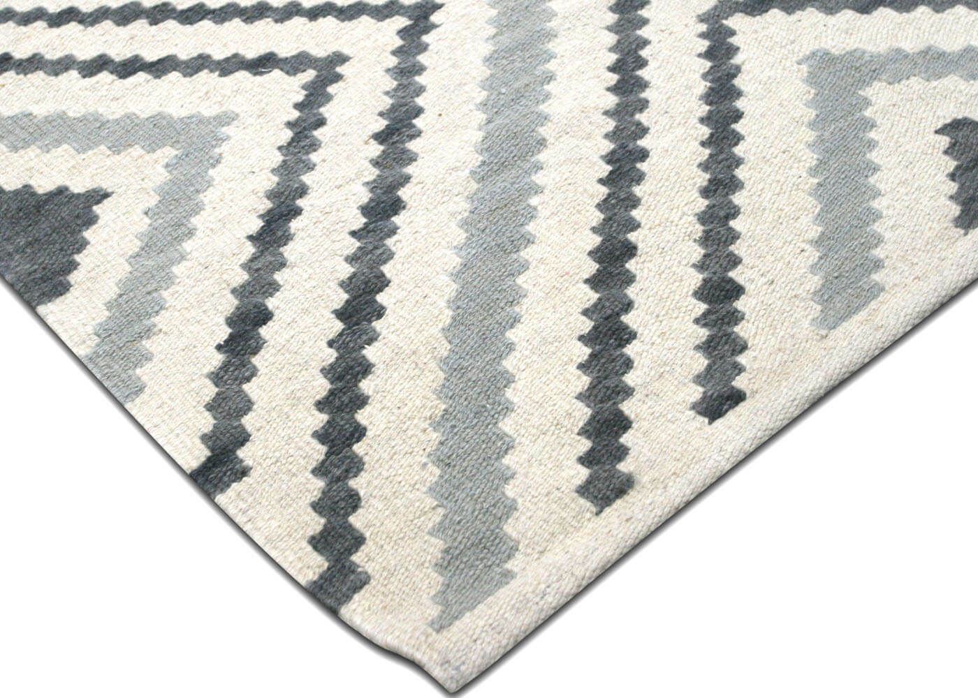 "Recently Woven Egyptian Kilim - 8'2"" x 11'4"""