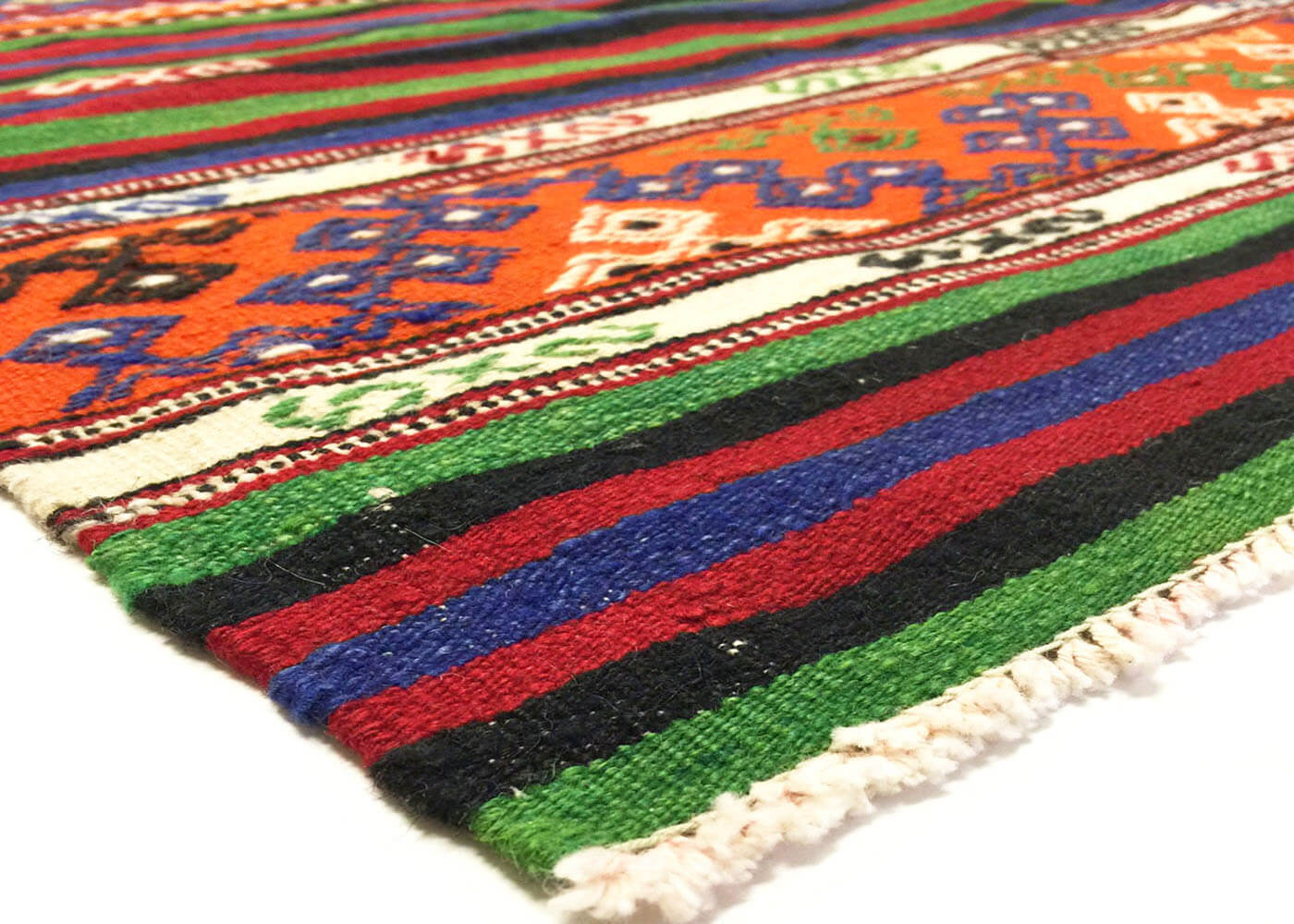 "Vintage Turkish Kilim - 5'11"" x 8'9"""