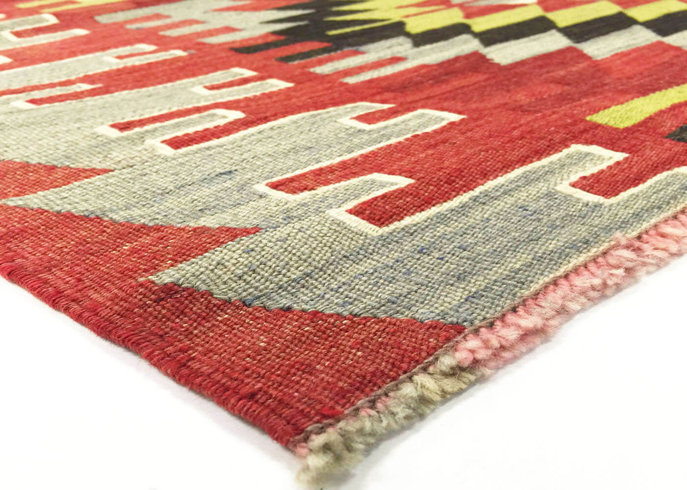 "Vintage Turkish Kilim - 5'8"" x 6'1"""