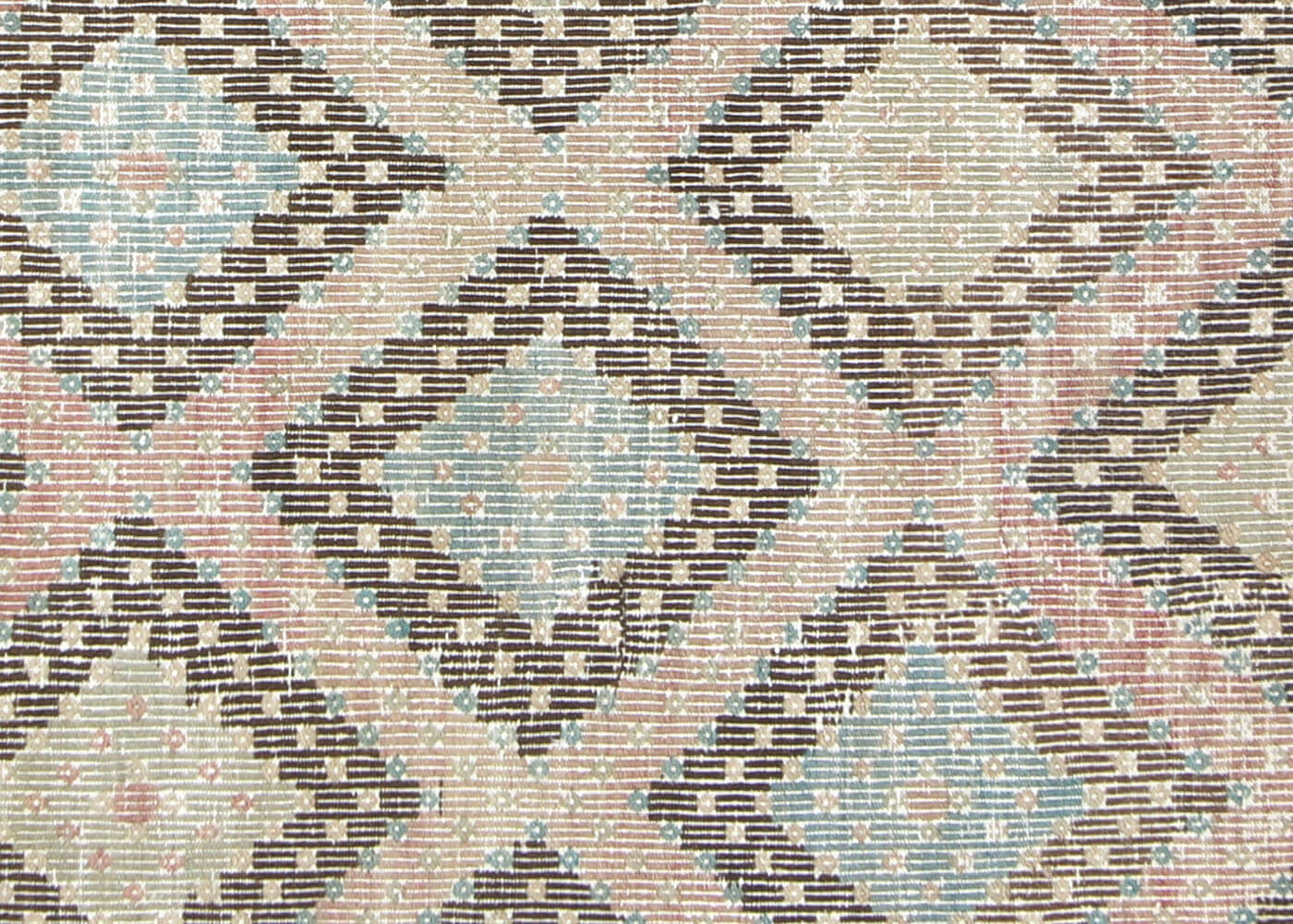 "Vintage Turkish Kilim - 6'5"" x 8'11"""
