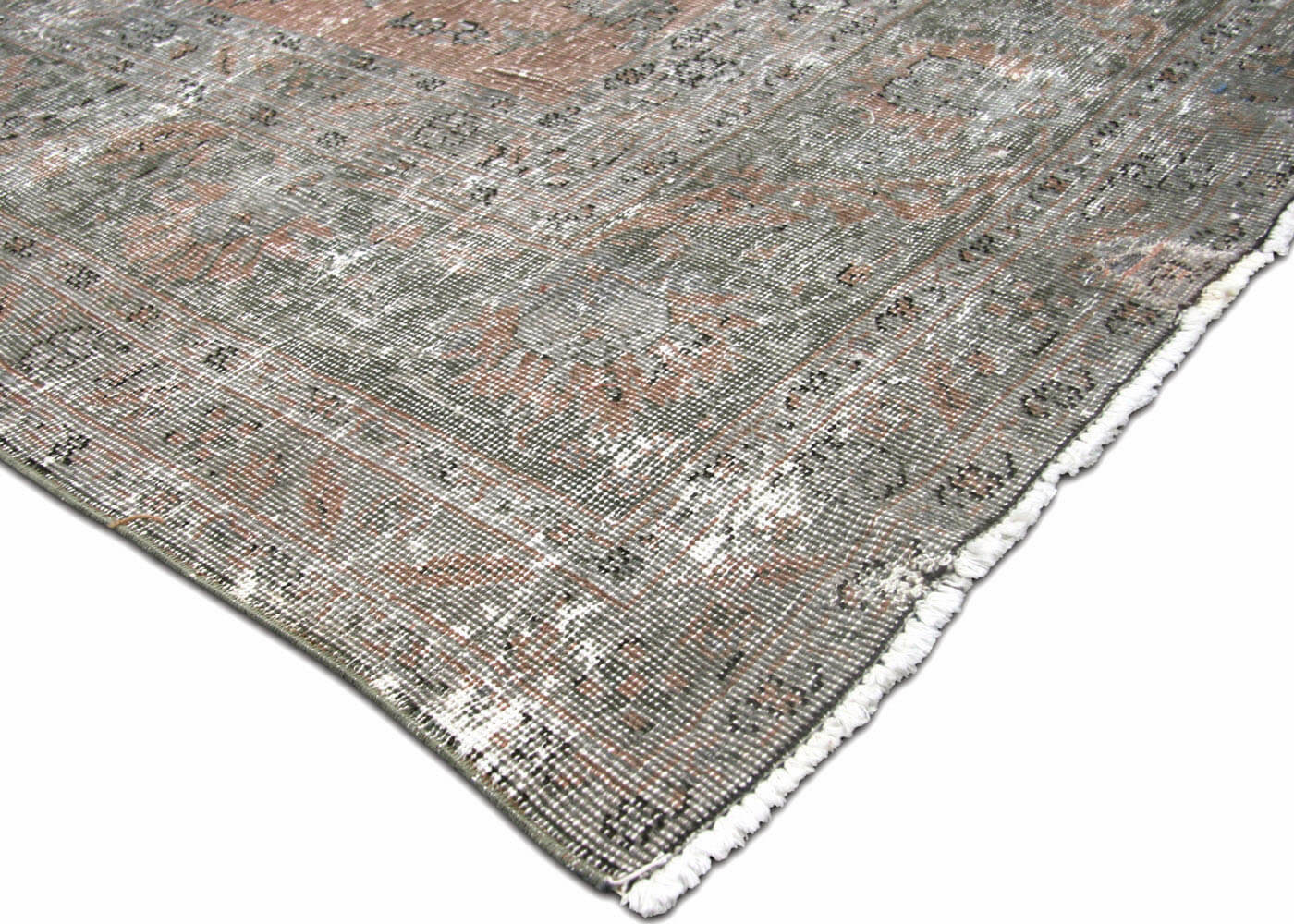 "Semi Antique Turkish Oushak Carpet - 8'11"" x 17'6"""