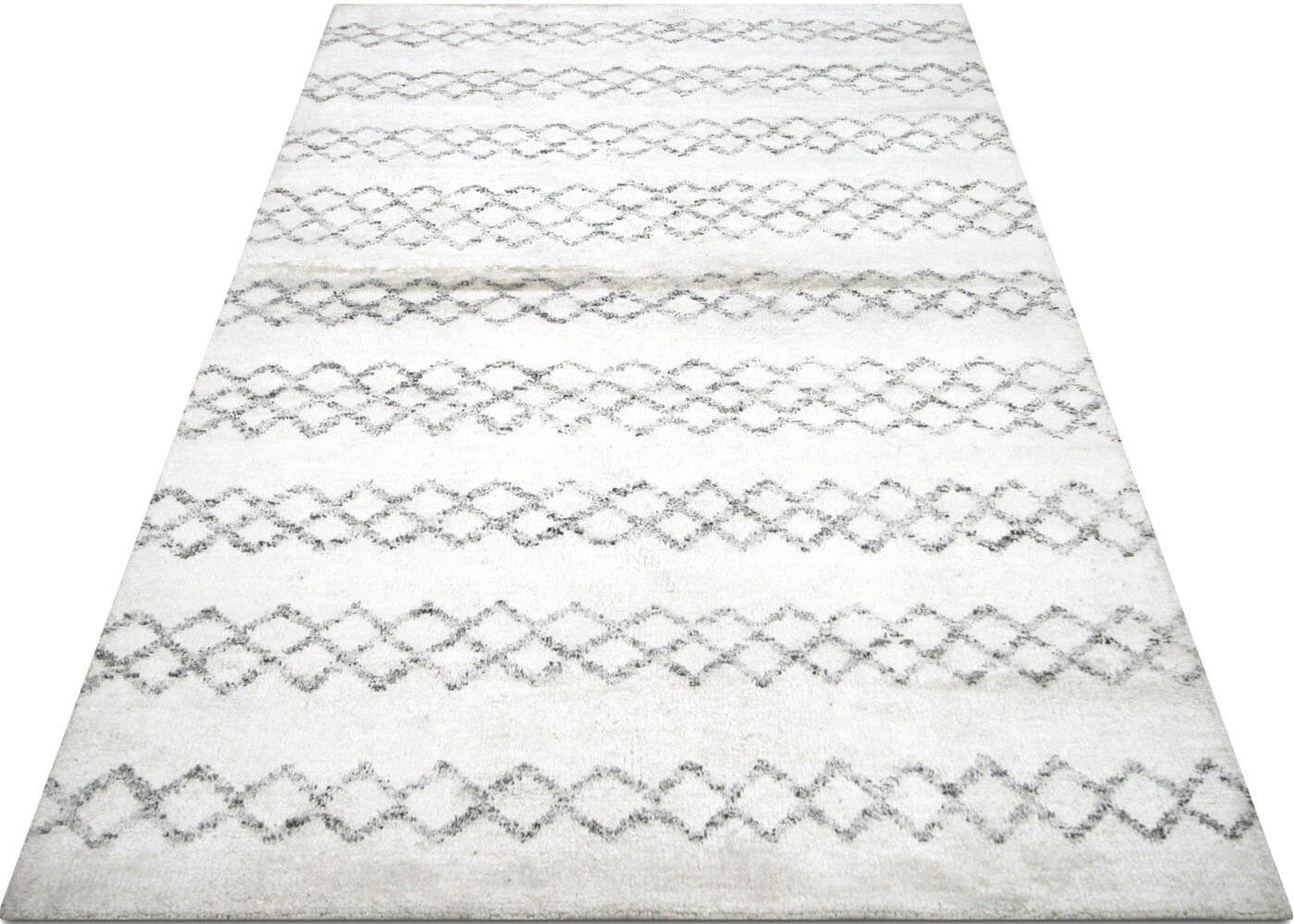 "Recently Woven Moroccan Berber Rug - 5'0"" x 8'0"""