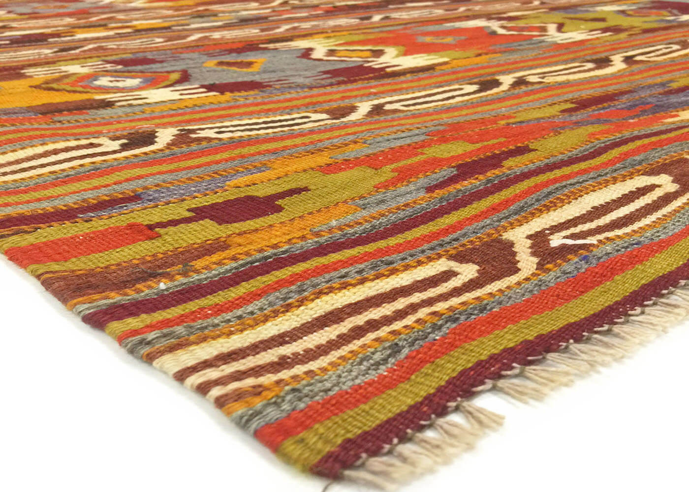 "Vintage Turkish Kilim - 3'3"" x 5'8"""