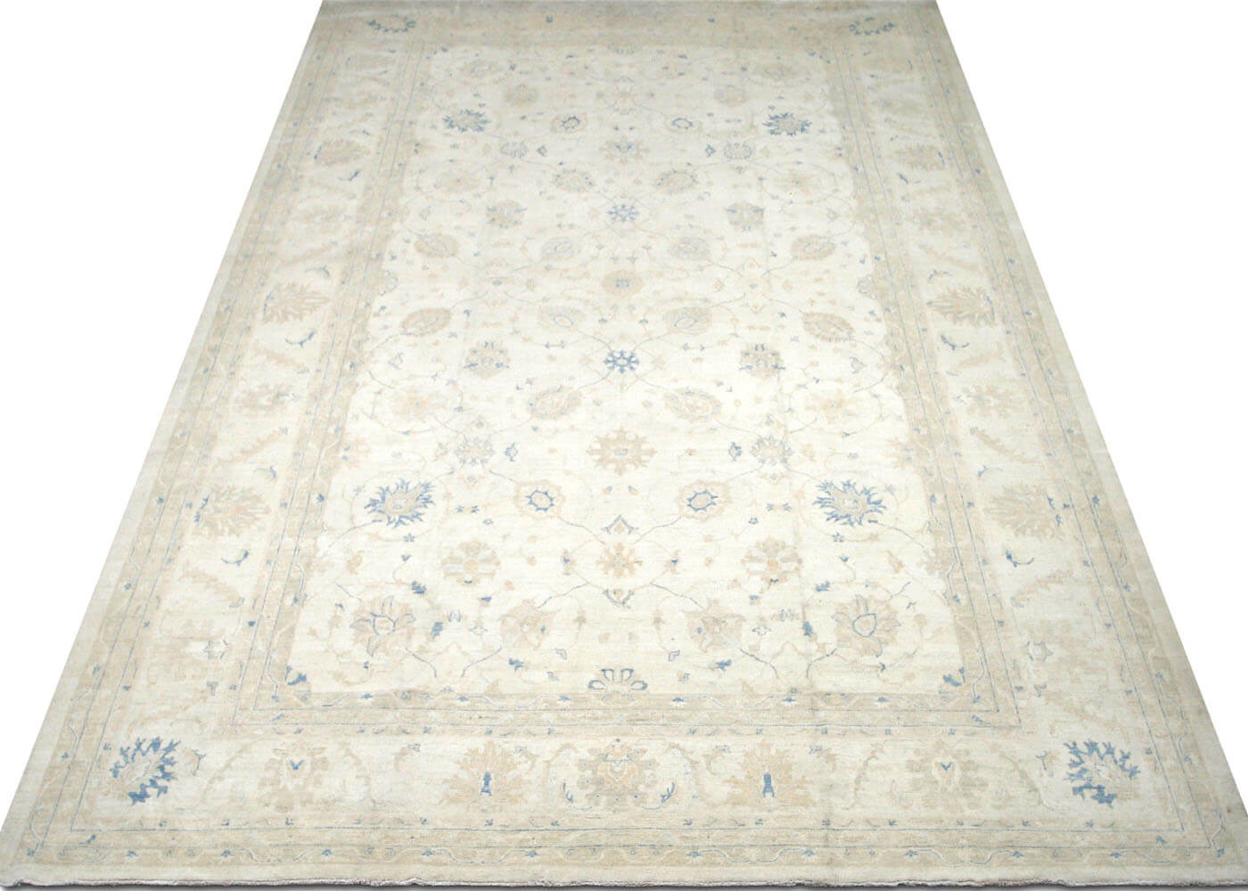 "Recently Woven Afghan Peshawar Carpet - 11'8"" x 18'2"""