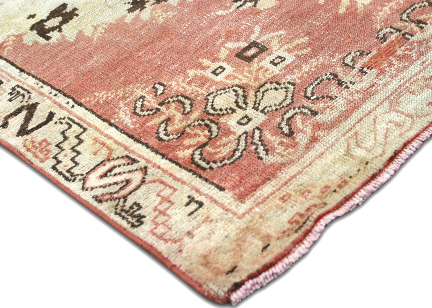 "Vintage Turkish Oushak Runner - 2'9"" x 9'10"""