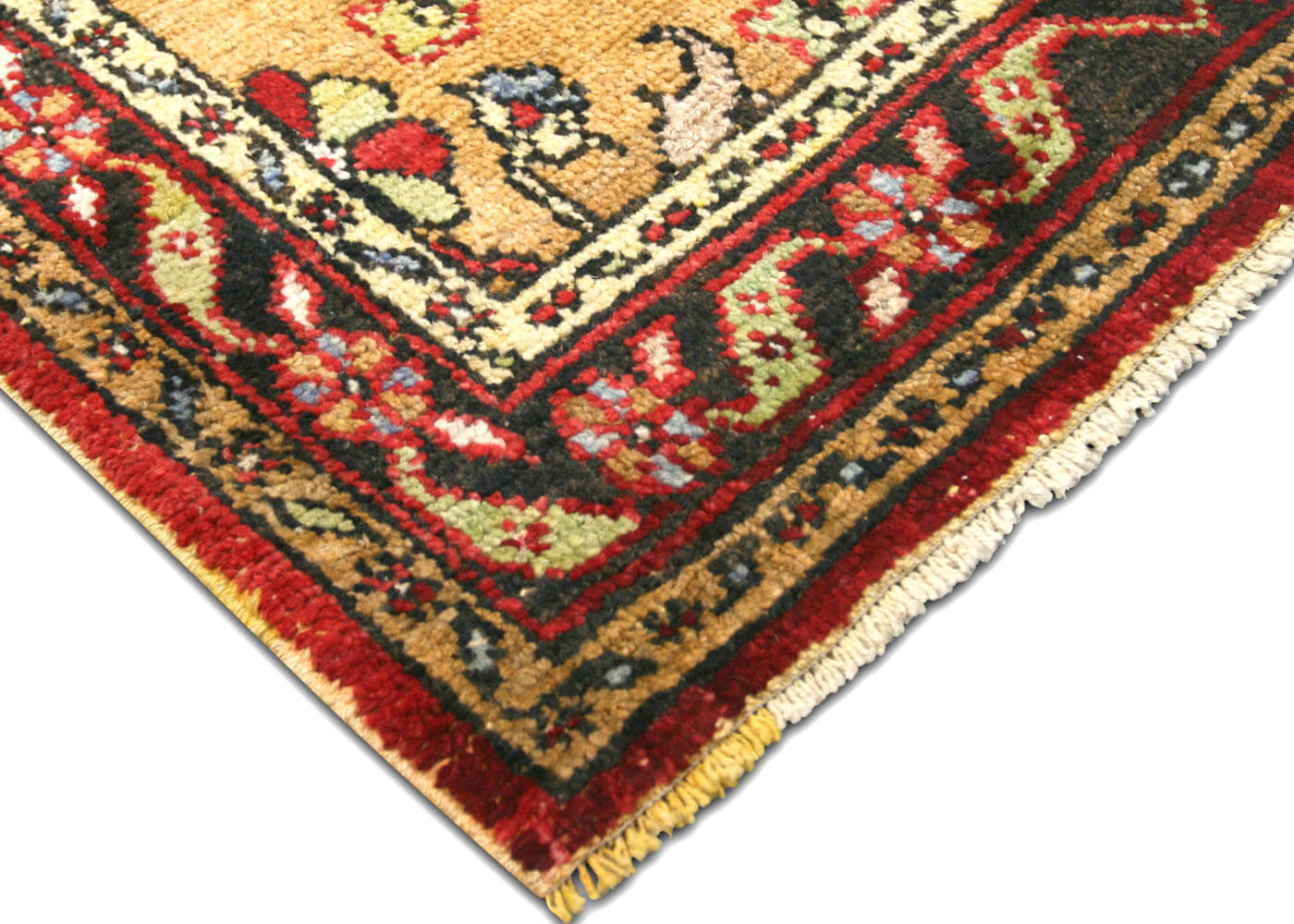 "Vintage Turkish Oushak Rug - 3'9"" x 5'5"""