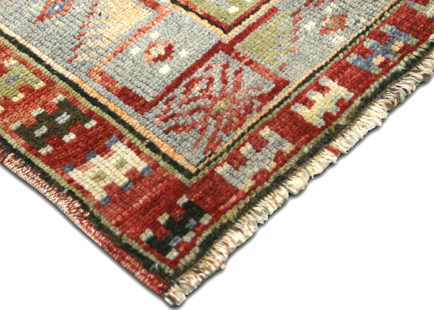 "Vintage Turkish Oushak Rug - 3'1"" x 5'5"""