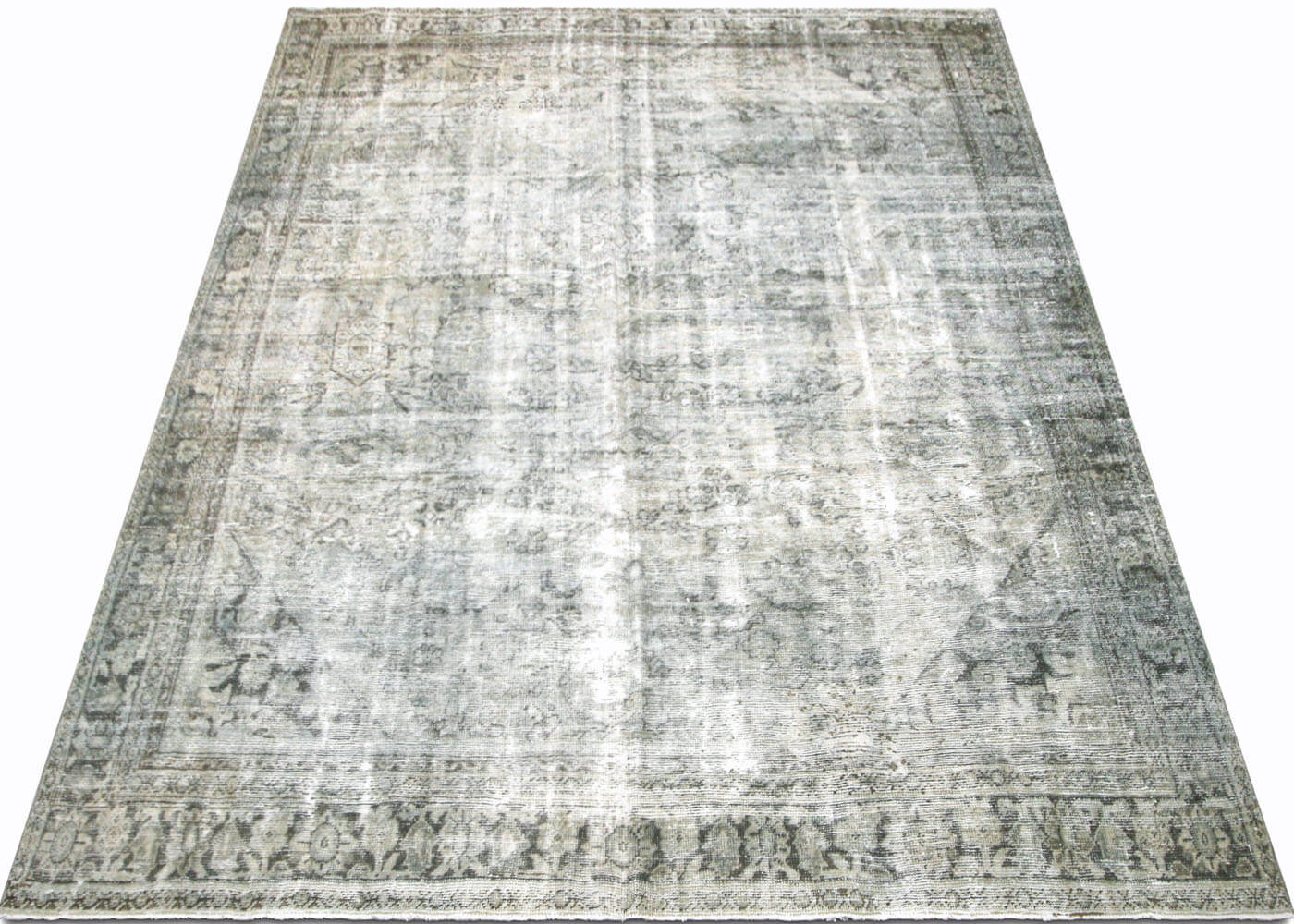 "Semi Antique Persian Mahal Carpet - 8'9"" x 11'2"""
