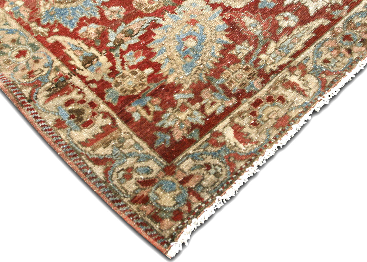 "Semi Antique Persian Melayer Carpet - 11'7"" x 16'11"""
