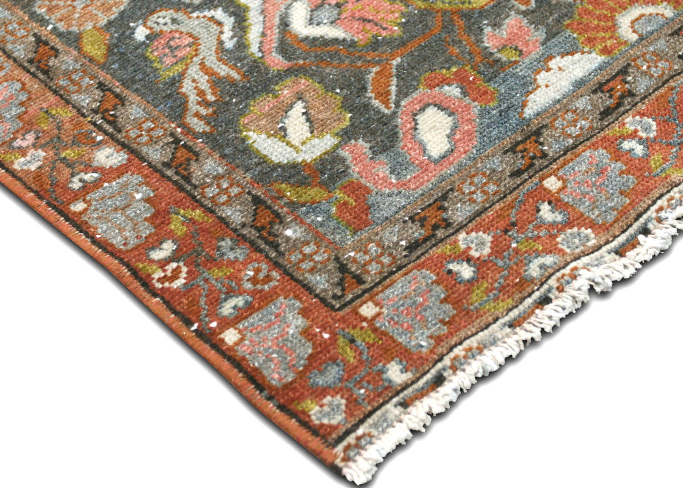 "Semi Antique Persian Melayer Runner - 2'5"" x 15'5"""