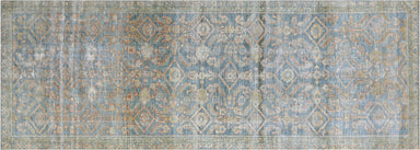 "Semi Antique Persian Melayer Runner - 3'6"" x 9'9"""