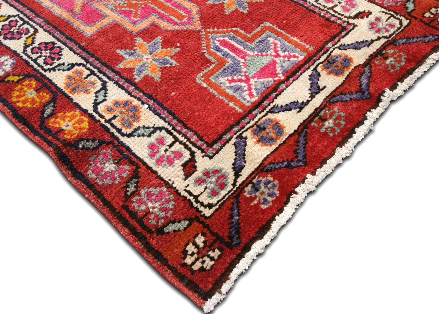 "Vintage Turkish Oushak Runner - 2'8"" x 13'9"""
